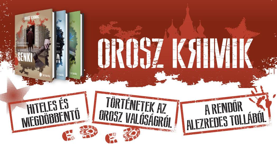 Orosz Krimik könyvsorozat